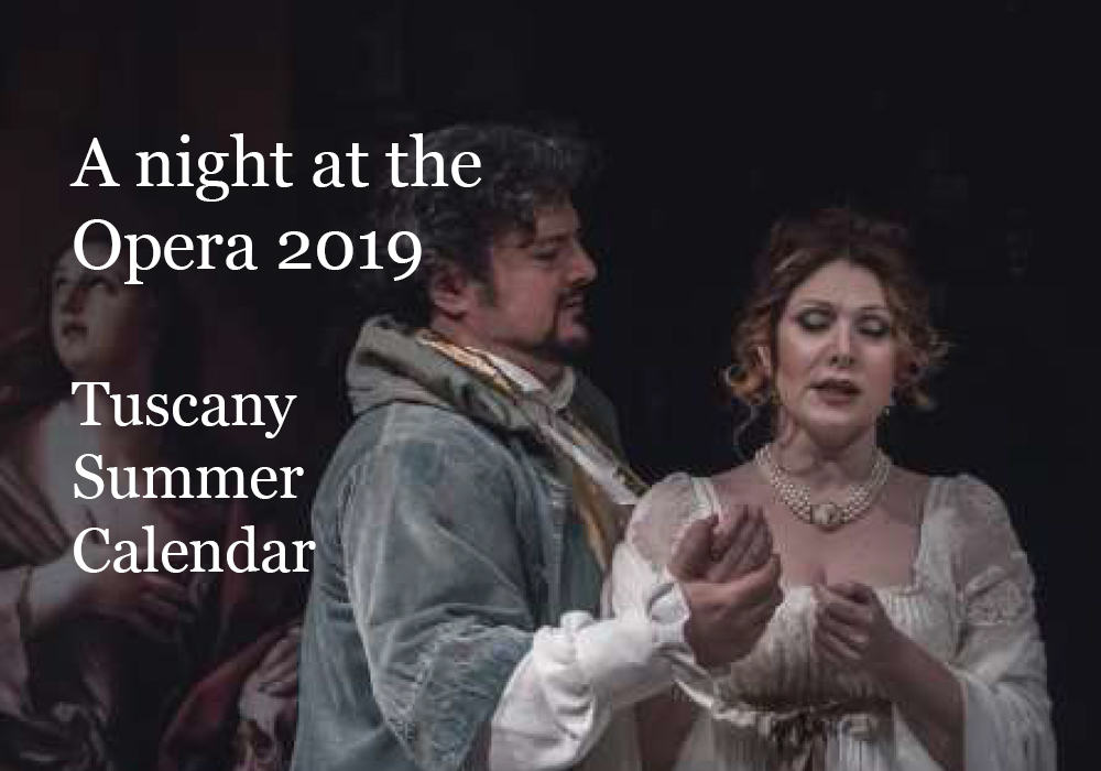 A night at the Opera in Tuscany 2019