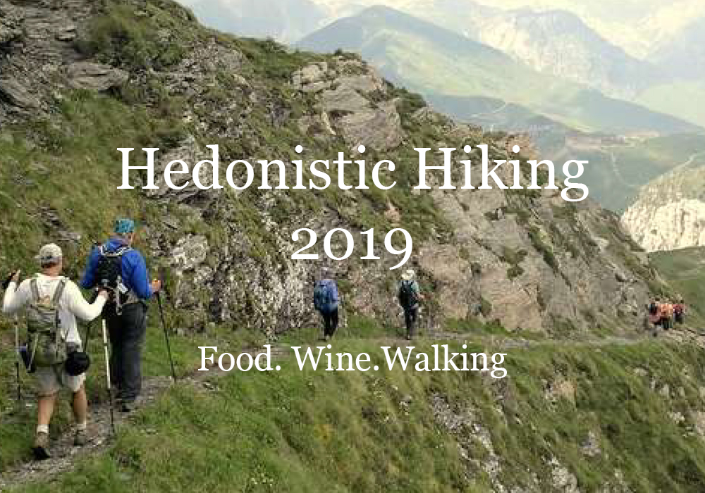 Hedonistic Hiking 2019